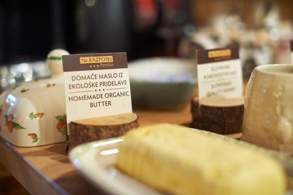 Home-made specialties offer